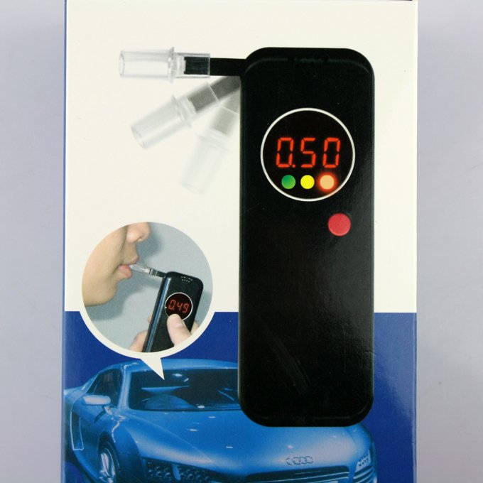High quality breath alcohol tester analysis blood alcohol concentration Alcohol tester with additional mouthpiece measuring BAC(China (Mainland))