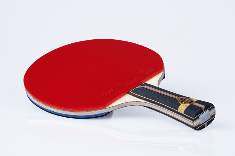 2015 latest offensive racket to table tennis grip wooden long handle high end quality good best paddle pingpong rubber bats(China (Mainland))