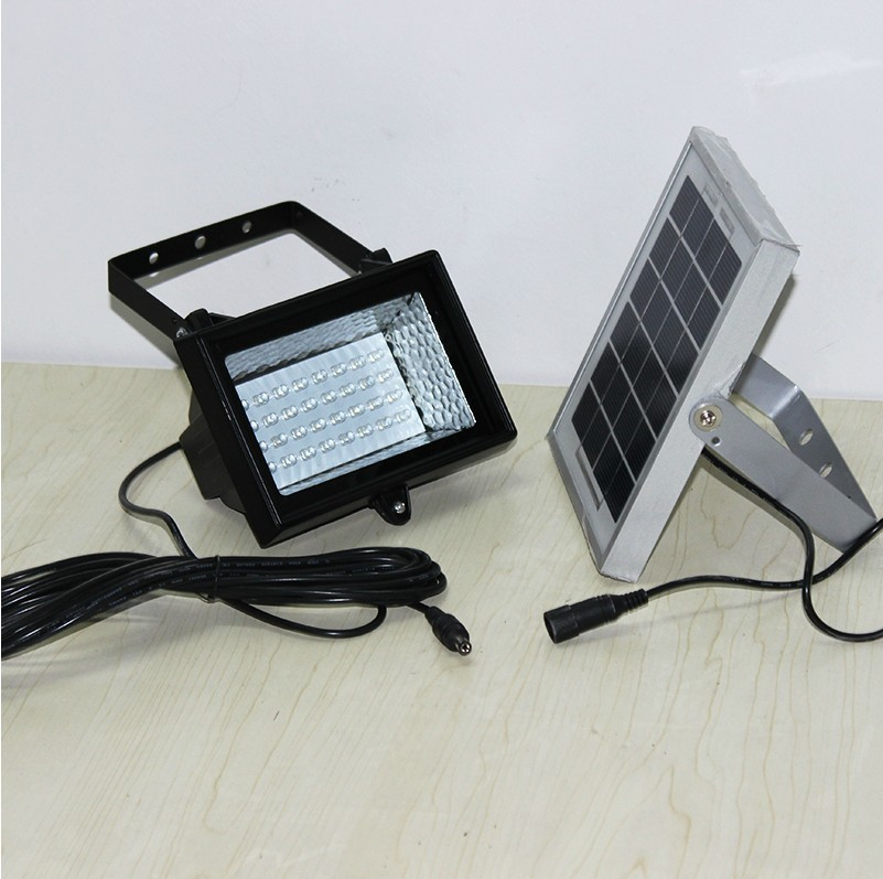 32 leds flood light 2w solar panel powered lighting outdoor