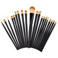 2017 Professional 20 Pcs Makeup Brushes Set Powder Foundation Eyeshadow Eyeliner Lip Cosmetic Makeup Brushes Maquiagem