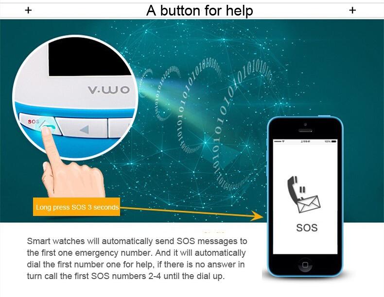 Звезды дети сокровища умный телефон вахты GPS позиционирования анти-потерянный вызова отслеживания студент водонепроницаемый браслеты
