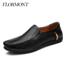 Spring Autumn Men Loafers Genuine Leather Summer Men's Moccasin Driving Shoes Platform Shoes Men Flat Shoes Tods Man Plus Size(China (Mainland))