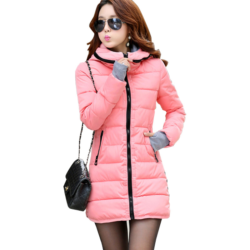 2015 Winter and Autumn Wear High Quality Parkas Winter Jackets Outwear Women Long Coats TSP1657(China (Mainland))