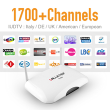 Buy Smart R2 Android IPTV Box UK DE Italian French 1700 Plus Europe IP TV Channels Wifi Load 1G/8G IPTV Media Player Set Top Box for $57.38 in AliExpress store