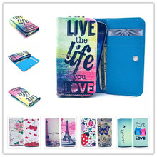 2015 Top Selling New Painting Leather Phone Cases For Amoi N820 N821 N828 N850 Wallet Style With Card Slot Back Cover Case(China (Mainland))
