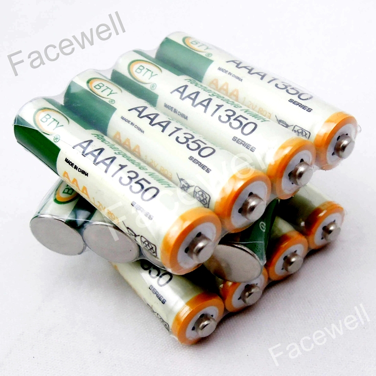 16pcs pilas recargables bty aaa 1350mah rechargeable ni-mh battery for panasonic batteries cordless phone home telephone ,toys(China (Mainland))