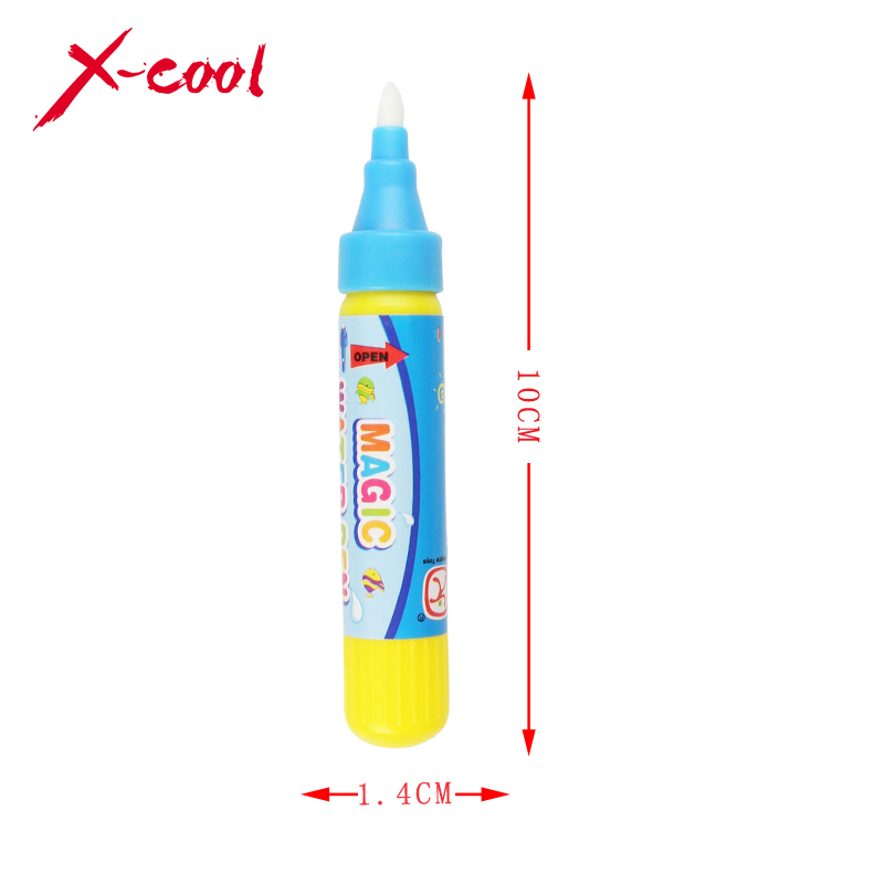 Drawing Pen / American Aqua Doodle Magic Pen / Water Drawing marker without cover cap / just add water Blue or red(China (Mainland))