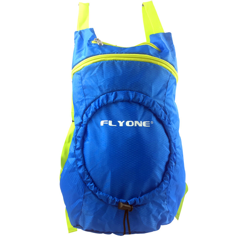 Extreme Sports Nylon Blue backpack Fold Bag For Climbing and Swiming(China (Mainland))