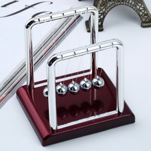 1pcs Newton's Cradle Steel Balance Balls Desk Physics Science Pendulum Desk Toy Brand New Worldwide sale(China (Mainland))