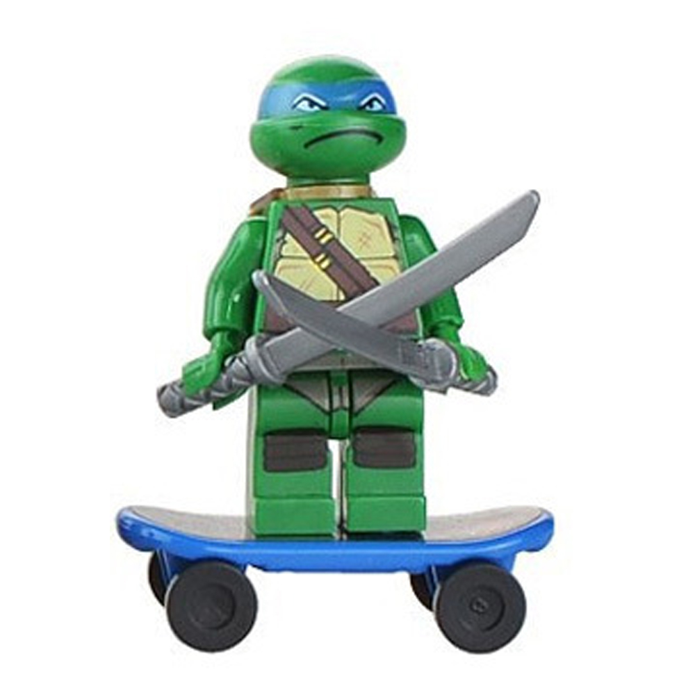 Model KR 6pcs/lot Teenage Mutant Ninja Turtles Mini Determine film Child Child Toy Constructing Blocks Units Mannequin Toys Minifigures Brick