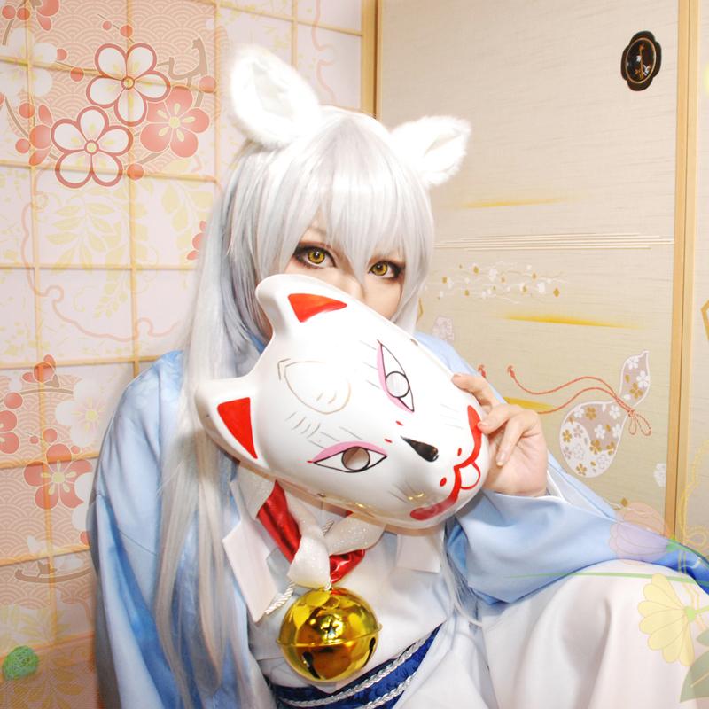 Anime Gugure! Kokkuri-san Kokkurisan Embroidered kimono High Quality Cosplay Costumes