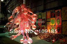 Retail Online Cheap Fashion Blown Glass Chandelier(China (Mainland))
