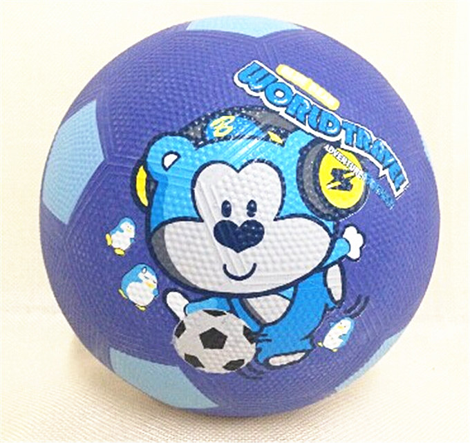 Free shipping Children's cartoon 3# football pupils entertainment games rubber wear Soccer wholesale made in china(China (Mainland))