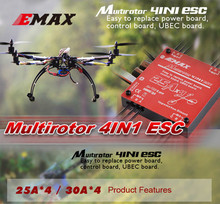 Drone EMAX 4in1 25A Brushless ESC support 2-4S Brushless ESC multiaxial