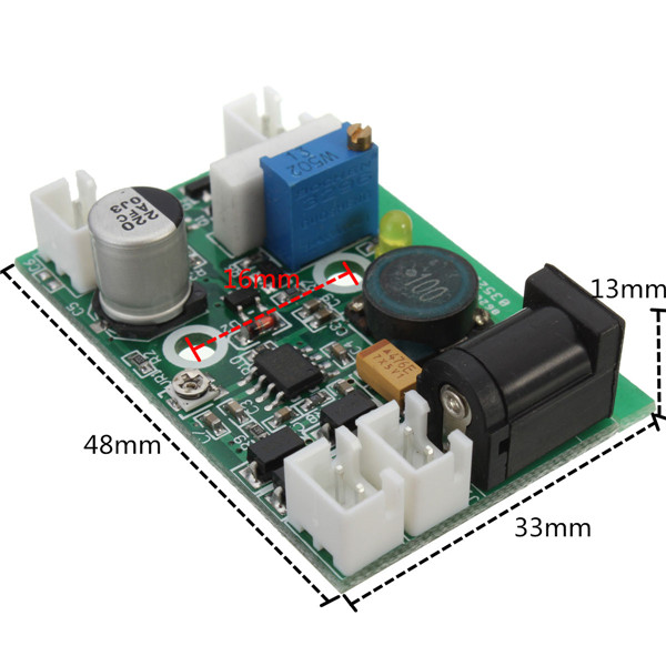 12V TTL 200mW To 3W 445nm 450nm Laser Diode LD Power Supply Driver Board<br><br>Aliexpress