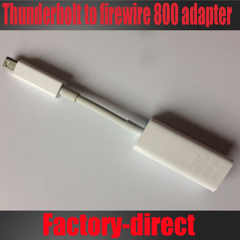 Free shipping&wholesale 20PCS/lot Genuine A1463 mini dp Thunderbolt to Firewire 800 cable adapter MD464ZM/A(China (Mainland))