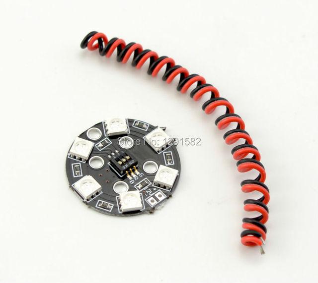 RGB LED Round Circle Board 5050 X6 / 12V for FPV RC Multicopter  Matek