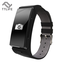 Original TTLIFE Brand Smart Bracelet Watch Earphone Headset MTK2502 Heart Rate Monitor Bluetooth Fitness Tracker Montre Homme(China (Mainland))
