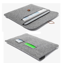 """New high quality felt design case for macbook air pro retina 11.6"""" 13"""" inch laptop sleeve for woman man notebook bag 13.3"""" 15.4""""(China (Mainland))"""