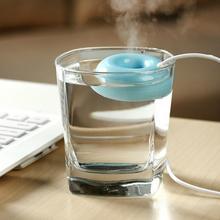 USB Float Wasser Donut Donut Luftbefeuchter Aroma Air Diffuser Nebel-hersteller # L0192612(China (Mainland))