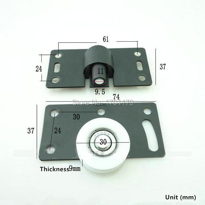 Schuifdeur kast katrol wiel schuifdeur closet deur accessoires deur wiel katrol shift in steel - Schuifdeur deur ...