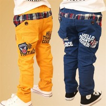 2015 Hot Boys Pants Kids Casual Pants Children Trousers styling korean styling fashion kid's trousers Free shipping(China (Mainland))