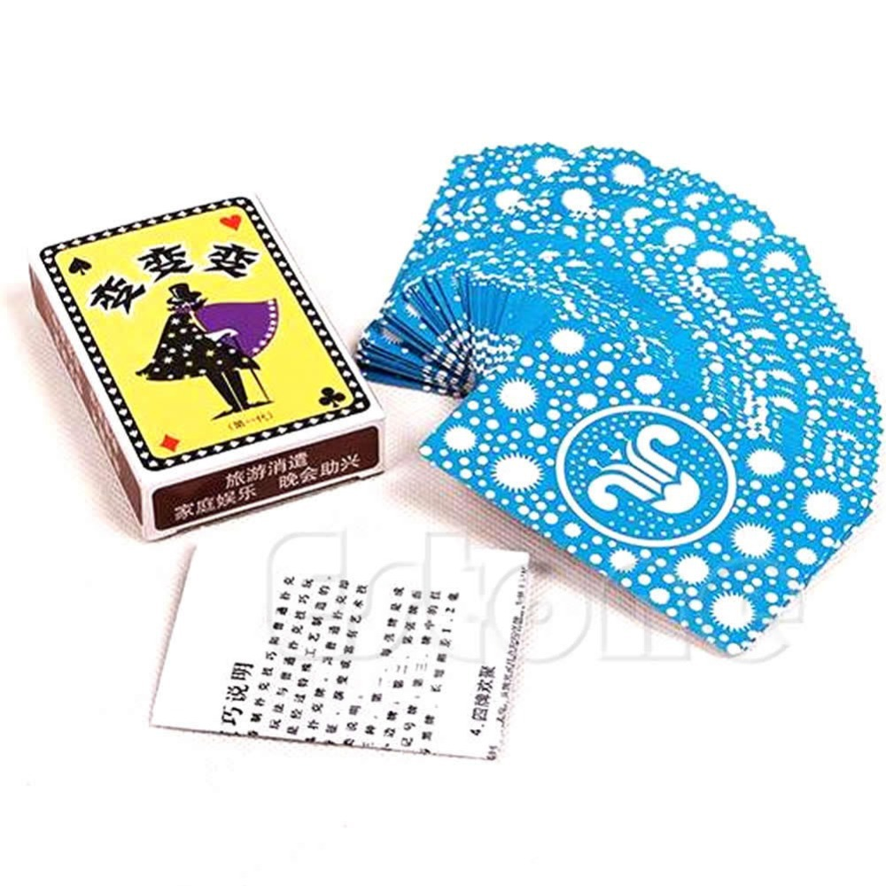 New deck of cards poker trick