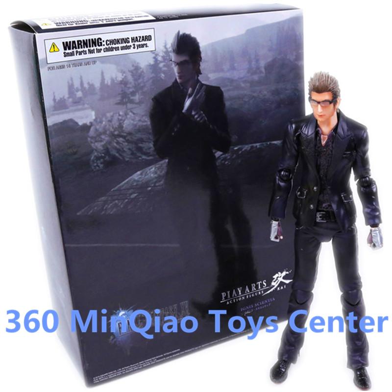 Play Arts KAI Final Fantasy XV Ignis Scientia PVC Action Figure Collectible Model Toy 26cm RETAIL BOX WU901(China (Mainland))