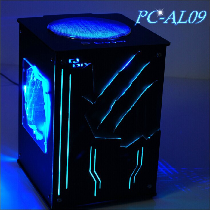New Arrival Qdiy Pc Al09 Microatx Mini Itx Diy Vertical Air Duct