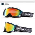 New genuine brand ski goggles double lens anti fog big spherical professional ski glasses unisex multicolor