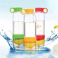 Lemon Cup Water Bottle 650ml Multi Color H2O Drink More Water Drinking Bottle
