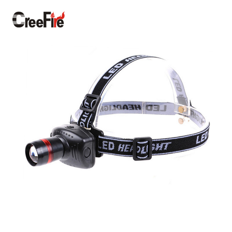 H1 Hot selling Mini LED Headlamp headlight 3 Mode Energy Saving Outdoor Sports Camping Fishing Head Lamp LED Flashlights Black(China (Mainland))