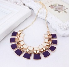 2015 New Fashion Vintage Bohemia Choker Collar Necklace Women Wholesale Bead Chain Statement Necklaces Pendants Women Jewelry(China (Mainland))