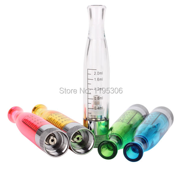 GS H2 Clearomizer atomizer Colorful E Cigarette GS H2 Atomizer Replace Cartomizer all For eGo T