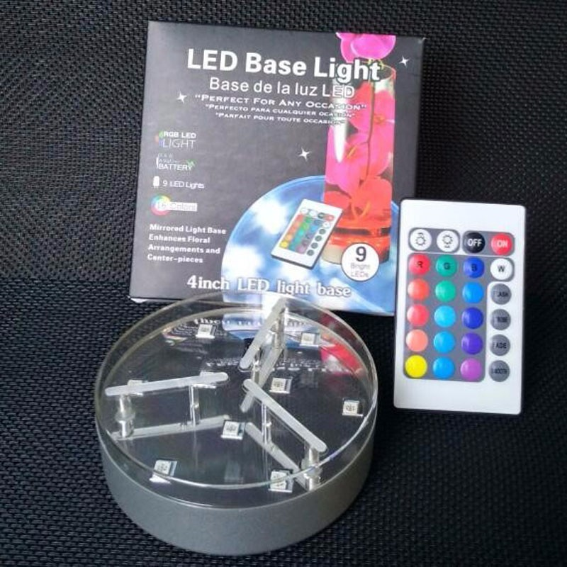 RGB-LED-4inch-LED-VASE-Light-Base-D