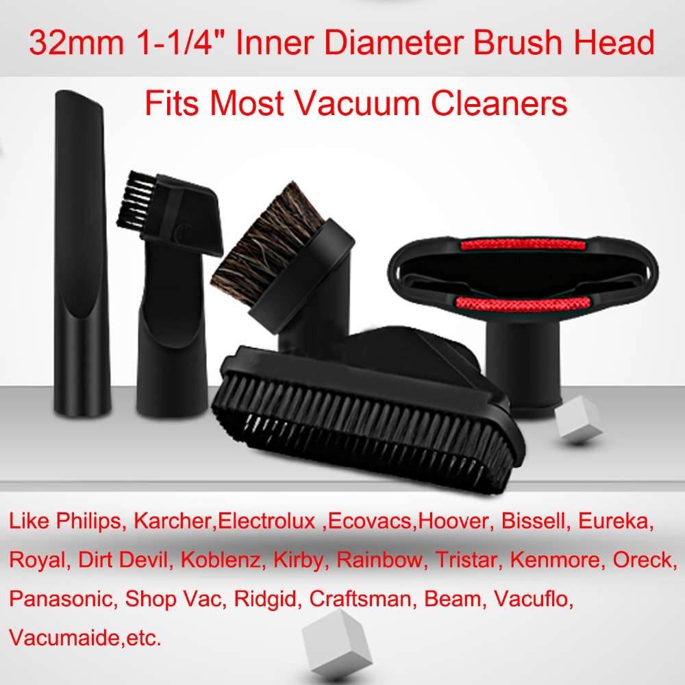 4Pcs/Lot Vacuum Cleaner Cleaner parts horsehair nozzle head & Brush for Hoover, Bissell, Eureka, Royal, Dirt Devil Replacement(China (Mainland))