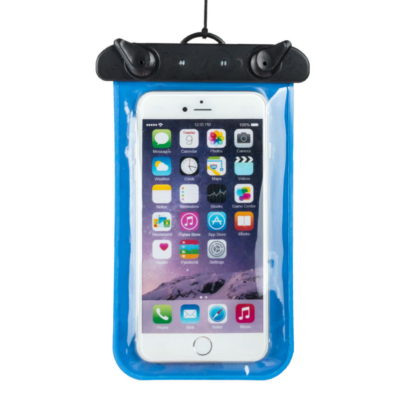2015 New Waterproof Phone Bag 100% Sealed Plastic Pouch Underwater Phone Bag case(China (Mainland))