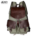 New Europe Style Vintage Backpack Men Canvas Mochila Masculina Large Backpack Bags MJH1351