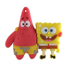 Hot Sale Cartoon Spongebob Patrick Sta USB Flash Drive Pen Drive 128M 512M 8GB Cute Memory Stick 32GB Storage Device