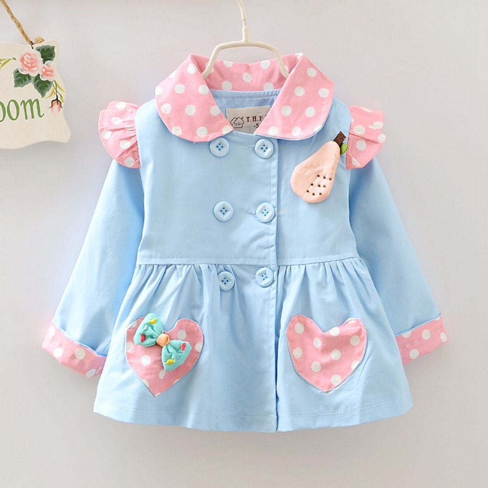 2015 Autumn Fashion Girls Hooded Cardigan baby kids Flora Star Bow Coat Children Outwear Coats Trench With Cap S2073<br><br>Aliexpress