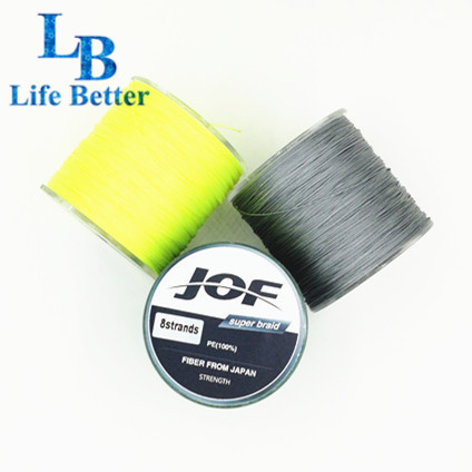 Life Better Brand Super Strong 8 Weaves 8 Strand Japanese 300m PE Braided Fishing Line Multifilament 15-200LB Saltwater(China (Mainland))