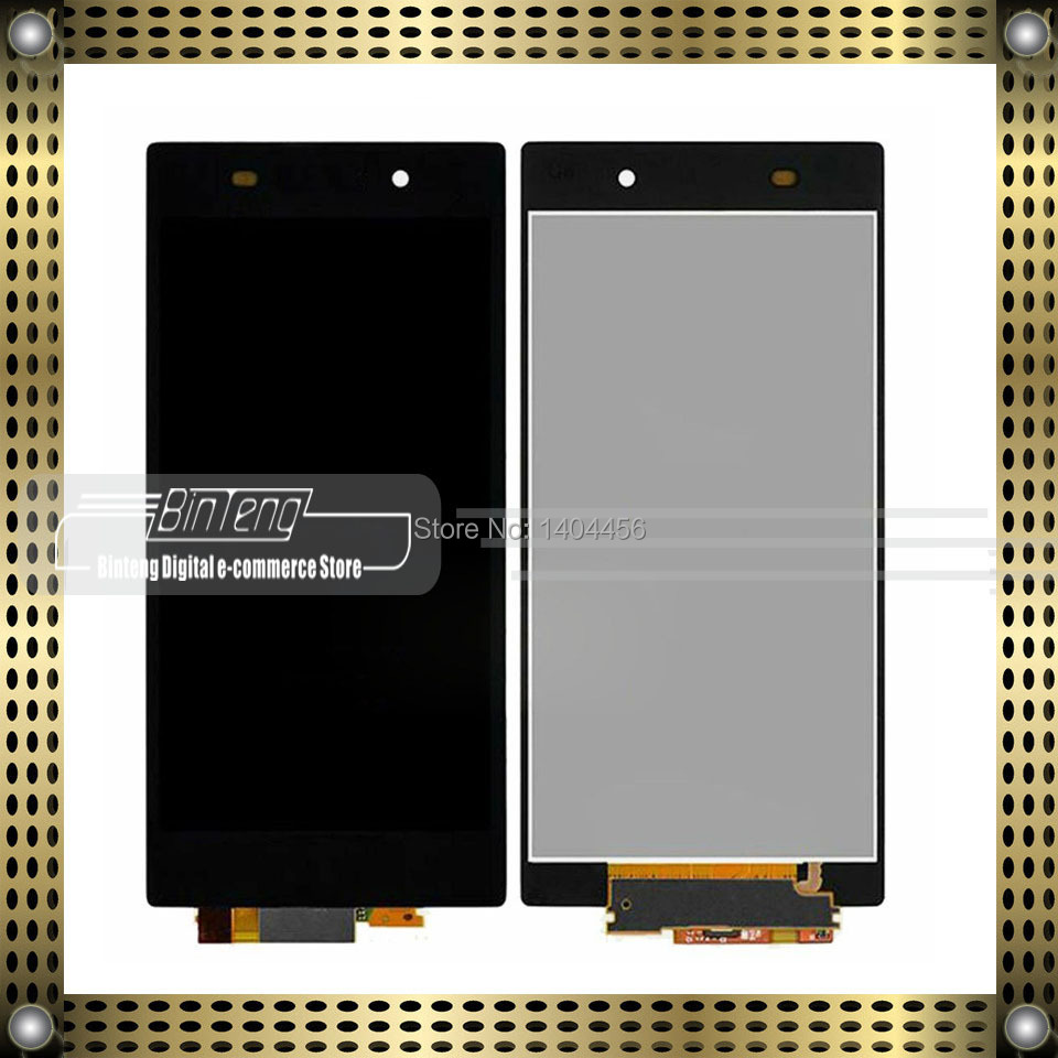 OEM Full lcd display + digitizer touch screen replacement For Sony Xperia Z1 L39h C6902 C6903
