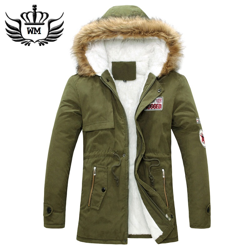 In the long winter coat jacket male young mens casual uniform coat cotton padded jacket slim.Одежда и ак�е��уары<br><br><br>Aliexpress