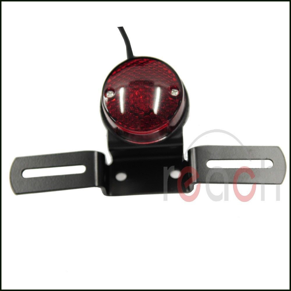 Motorcycle Rear license Brake Tail Light For Harley Chopper Custom Bobber(China (Mainland))