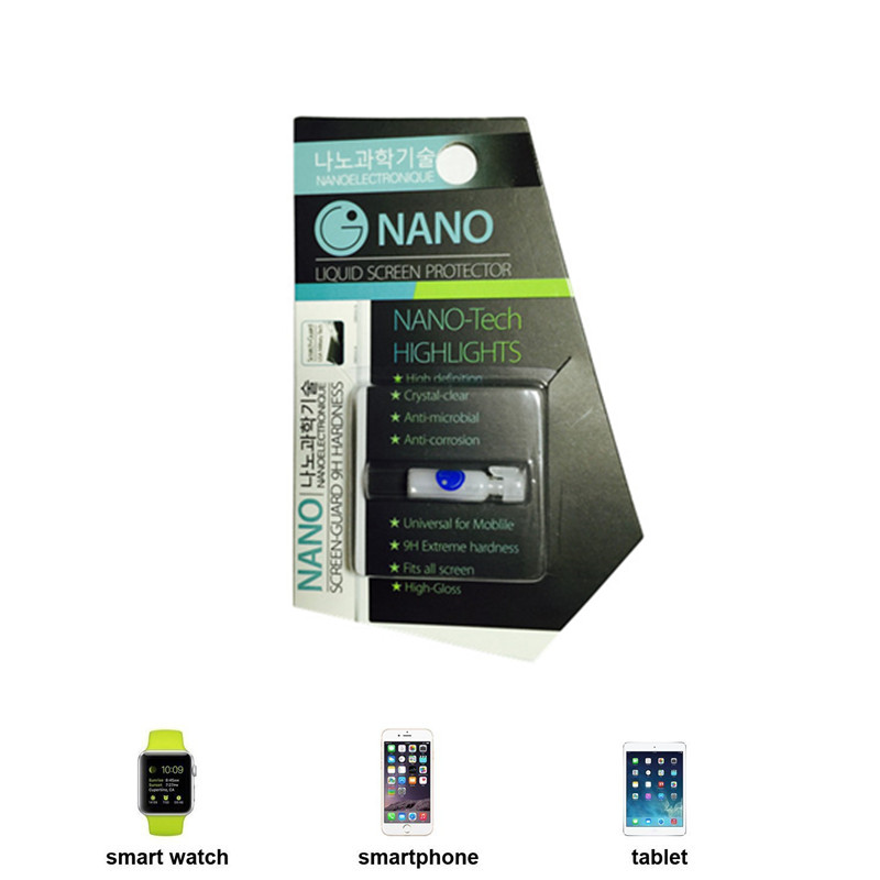 3rd Generation Universal Mobile Phone NANO Tech Liquid Screen Protector Invisible Shield for iPhone 6 Plus/Samsung S7 edge/LG G5(China (Mainland))
