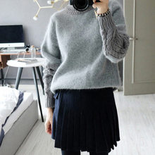 Hot Sale Women Sweaters And Pullovers 2016 New Fashion Europe Retro Casual Sweater Women Long Sleeved Slim Women Sweaters S20158(China (Mainland))