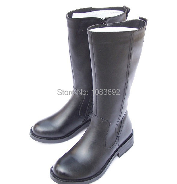 Free shipping 2014 new winter warm luxury fashion leather riding boots snow boot plus size 45 46 47<br><br>Aliexpress