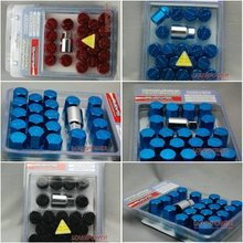 RAYS Racing Wheel Nuts / Wheel Screws , Anti-theft. P(diameter):1.25mm L(length):35mm (20Pcs/Set) (Red,blue,black)(China (Mainland))