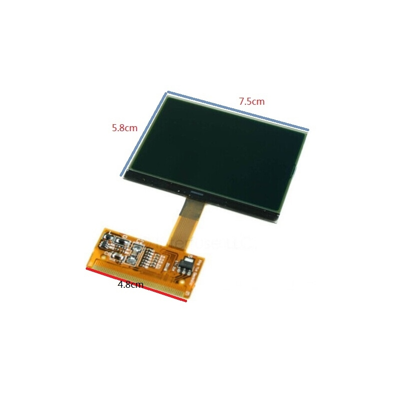Auto VDO display for AUDI TT S3 A6 VW VDO LCD cluster dashboard display repair(China (Mainland))
