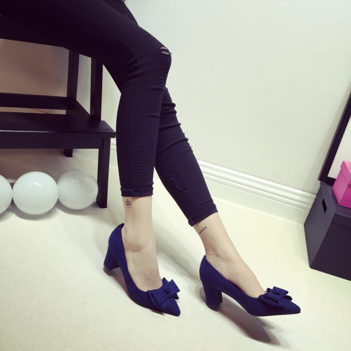 Latest arrival New arrival High-heeled shoes Sexy shallow mouth -2015-1- high heel shoes large size shoes Female Pumps(China (Mainland))